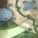 garden design plans and drawing