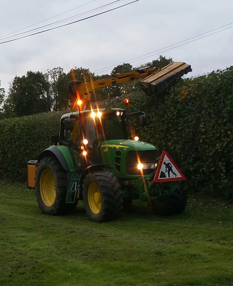 hedge cutting and maintenance